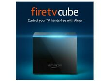 Fire TV Cube 1st Gen with Alexa and 4K Ultra HD and Alexa Voice Remote 2nd Gen