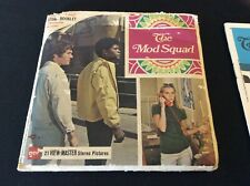 GAF Viewmaster Set #B 478  THE MOD SQUAD  Packet, 2 Reels & Story Booklet