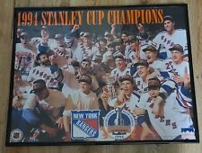 New York Rangers 1994 Stanley Cup Champions Framed Starline Poster size 20 x 16