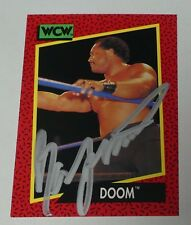 Ron Simmons Signed 1991 Impel WCW Doom Card #141 WWE Autograph FSU Pro Wrestling