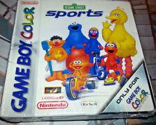 Gameboy Color sesame street sports/Barrio Sésamo Sports nuevo sealed cip OVP Top