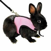 3 Colors Hamster Rabbit Harness And Leash Set Ferret Guinea Pig Small Animal Pet