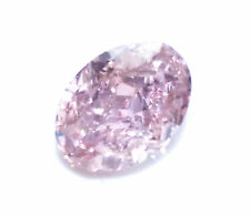 0.53ct Pink Diamond - Natural Loose Fancy Purple Pink Color GIA Oval Shape SI2