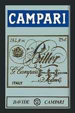 Barspiegel Campari, 20 x 30 cm Retro, Nostalgie, Werbung