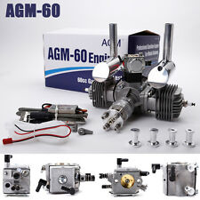 AGM60 60cc Gas Gasoline Engine w/Muffler & CDI VS. DLE60
