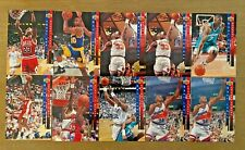 LOT OF (10) 1993-94 Upper Deck All-NBA Jordan, Ewing, Barkley +
