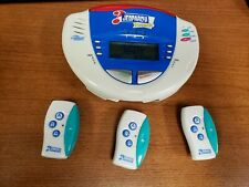 Jeopardy Remote Hand Held Electronic Game Tiger Electronics 3 Remotes / Buzzers