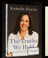 KAMALA HARRIS SIGNED The Truths We Hold Autographed Book President! 2020 Beckett