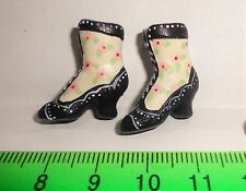 1:12 Scale Pair Of Ladies Boots Dolls House Miniature Clothing Footwear