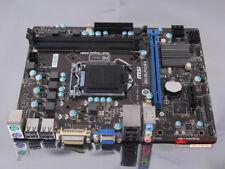 100% test MSI H61M-P31/W8 Motherboard LGA 1155 DDR3 Intel H61 (B3) Express
