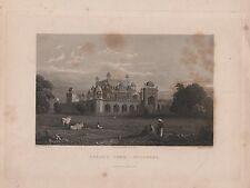 "India/Antiguo Impresiones - ""la tumba, Secundra Akbar"" - dibujado por la capitana Elliot (1840)"