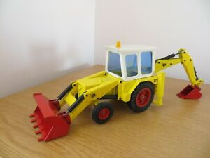 NZG JCB 3CII BACKHOE LOADER JCB DIECAST MODEL JCB RARE COLLECTABLE RARE
