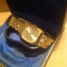 GENTS QUALITY GOLD PLATED EDOX DELFIN MATCHING BRACELET