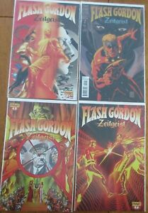 Flash Gordon : Zeitgeist #1#2 #5 #7 Dynamite Comic Books VF/NM
