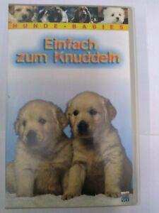 "Hunde Babies ""Einfach zum Knuddeln"" /  VHS Kassette sammlung super Zustand"