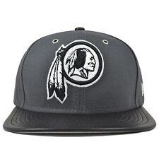 Washington Redskins New Era METAL HOOK Dark Gray Snapback 9Fifty NFL Hat