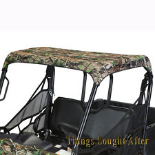 CAMO CANVAS ROOF TOP FULL SIZE 2009-2010 POLARIS RANGER XP HD 500 700 800 & 6x6