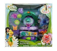 Disney Fairies Flower Scents Jewelry Box 1 necklace 1 bracelet 1 ring  8 flower