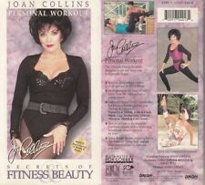 JOAN COLLINS - SECRETS OF FITNESS & BEAUTY - NTSC Video Tape - NEW & SEALED