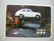 Volvo 544 Prospekt brochure text English 8 pages 1965