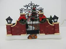 Dept 56 Dickens Village Victorian Christmas Scene #58588 Good Condition