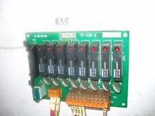 B35 HITACHI SEIKI CIRCUIT BOARD TF-SSR-8 M001844 DISTRIBUTION MELBA CNC
