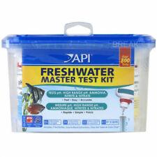 More details for api freshwater master test kit ph ammonia nitrite tropical aquarium fish tank