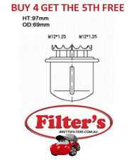 FUEL FILTER FOR HONDA INTEGRA 1.8L 1989 - 1992