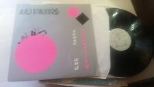 AU PAIRS sense & sensuality Lp original 1982 rare vinyl art wave punk holland !!