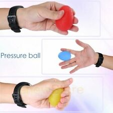 3Pack Hand Squeeze Exerciser Ball Grip Stress Resistance Held Wrist Finger