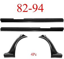 90 94 Chevy S10 Blazer 4Pc Full Rocker & Dog Leg Kit, GMC Jimmy