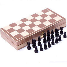 International Chess Handmade Travel Wooden Chess Set Gift Toys Mini