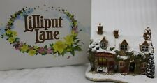 Lilliput Lane Cracklin' Weihnachten