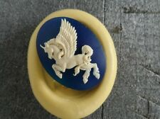 UNICORN cameo silicone push mold mould polymer clay resin WAX Sugar Craft USA