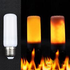 1PC E27 LED Efecto Llama Simulado Fuego Bombilla Parpadeante Navidad Decoración