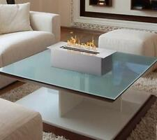 Bio Ethanol Fireplace Modern Tabletop Ventless Small Indoor Firepit Fire Heater
