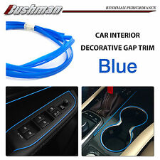 Universal Car Console Panel Dashboard Moulding Gap Trim Blue Garnish Line OZ 20M