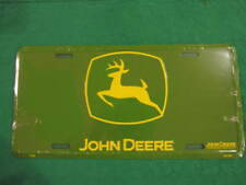 JOHN DEERE TRACTOR METAL LICENSE PLATE DEER SIGN L104