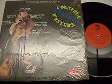 Country and Western Bonanza-Various-LP-Shrink-Design-DLP638-VG+