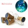 1X Solar Wine Bottle Cork Shaped String Light 10 LED Night Fairy Light Lamp Xmas