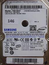 160 GB Samsung hm160hi/2008.02/PCB: mango rev.03 #146