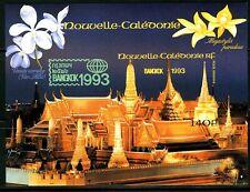 Nouvelle-Calédonie 1993 Bangkok 93 , Pagodes ,Yv BF15 Bloc Non Denleté