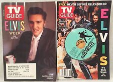 TV GUIDE May 8-14, 2005 ELVIS PRESLEY 2 Different Covers w/1 CD