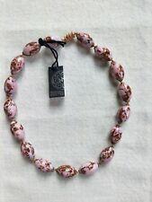 Ercole Moretti Necklace of Murano Glass Beads (0271)