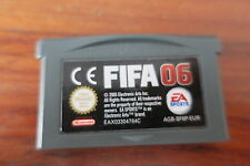 FIFA 06       ---   pour GAME BOY ADVANCE
