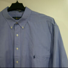 NWT $98 Polo Ralph Lauren Long Sleeve Red Oxford Shirt Mens Size LT Tall NEW
