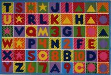 "LA Rug Numbers & Letters Rug 19""x29"""