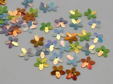 2000 Mixed Color 5-Petal Flower loose sequins Paillettes 10mm sewing Wedding