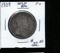 1909  Newfoundland 50 Cents F TB115