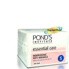 Ponds Anti Wrinkle Nourishing White Tea Extract Dry Skin Face Cream SPF15 50ml